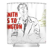 Mr Smith Goes To Washington  Shower Curtain
