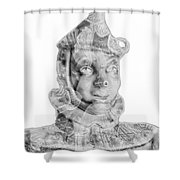Mr Tin Shower Curtain