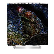Mr Toads Wild Eyes Shower Curtain