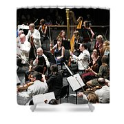 Mr Tuxedo Shower Curtain