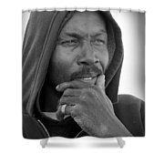 Mr Willie Brown Shower Curtain