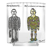 Mr.c Shower Curtain