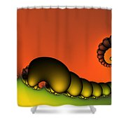 Mrs. And Mr. Centipede Shower Curtain