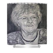 Mrs. Carol Paul Shower Curtain