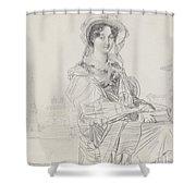 Mrs. Charles Badham Shower Curtain