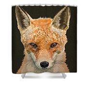 Mrs. Foxy Shower Curtain