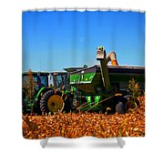Mrs John Deere Shower Curtain