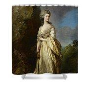 Mrs Peter William Baker Shower Curtain
