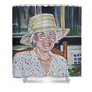 Mrs Spencer Shower Curtain