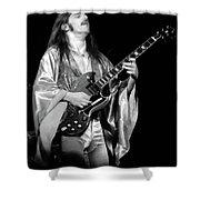 Mrsea #40 Enhanced Bw Shower Curtain