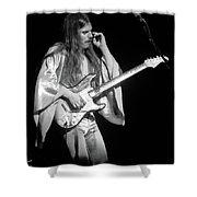 Mrsea #48 Enhanced Bw Shower Curtain