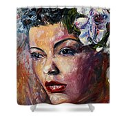 Ms. Lady Day Shower Curtain