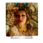 Ms Lady Melissa Shower Curtain