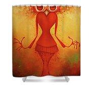 Ms. Shishi Shower Curtain