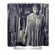 Mss Creepy Shower Curtain