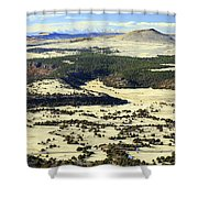 Mt. Capulin New Mexico Shower Curtain