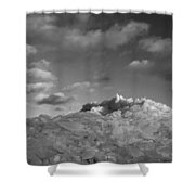 Mt. Chilly Shower Curtain