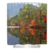 Mt. Chocorua Reflections II Shower Curtain