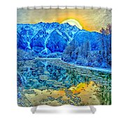 Mt Currie Fantasy Shower Curtain