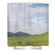 Mt. Diablo Mcr 1 Shower Curtain