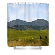 Mt. Diablo Mcr2 Shower Curtain