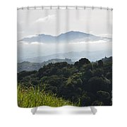 Mt. Diablo Shower Curtain