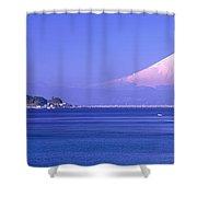 Mt Fuji Kanagawa Japan Shower Curtain