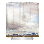 Mt Hekla Shower Curtain