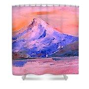 Mt Hood 04 Shower Curtain