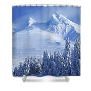 Mt. Hood Shower Curtain