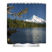 Mt Hood From Lost Lake Shower Curtain