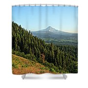 Mt Hood In The Distance Shower Curtain