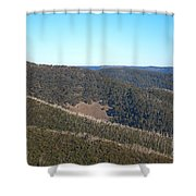 Mt Hotham In Early April Shower Curtain