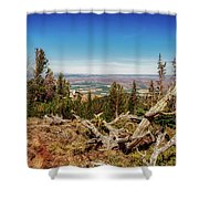 Mt. Howard, Wallowa Lake Shower Curtain