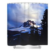 Mt. Jefferson Photograph Shower Curtain