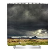 Mt Keilir, Iceland Shower Curtain