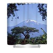 Mt. Kilimanjaro,moshi,tanzania Shower Curtain