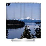 Mt Lassen 2 Shower Curtain