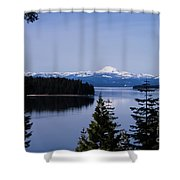 Mt Lassen Shower Curtain