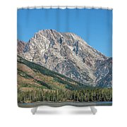 Mt Moran At The Grand Tetons Shower Curtain