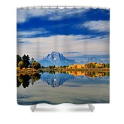 Mt. Moran Shower Curtain