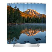 Mt. Moran From String Lake Shower Curtain