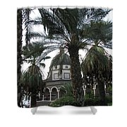 Mt Of Beatitudes Shower Curtain