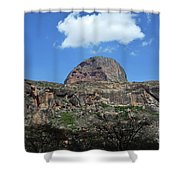Mt Poi Shower Curtain