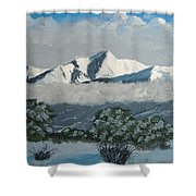 Mt Princeton Co Shower Curtain