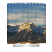 Mt. Princeton Shower Curtain