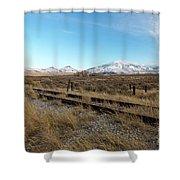 Mt Putnam Shower Curtain