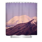 Mt Rainer From The Wenas Valley  Shower Curtain
