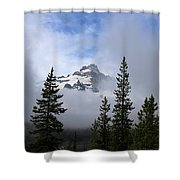 Mt. Rainer Shower Curtain