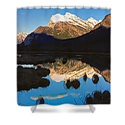 Mt Rundle Shower Curtain